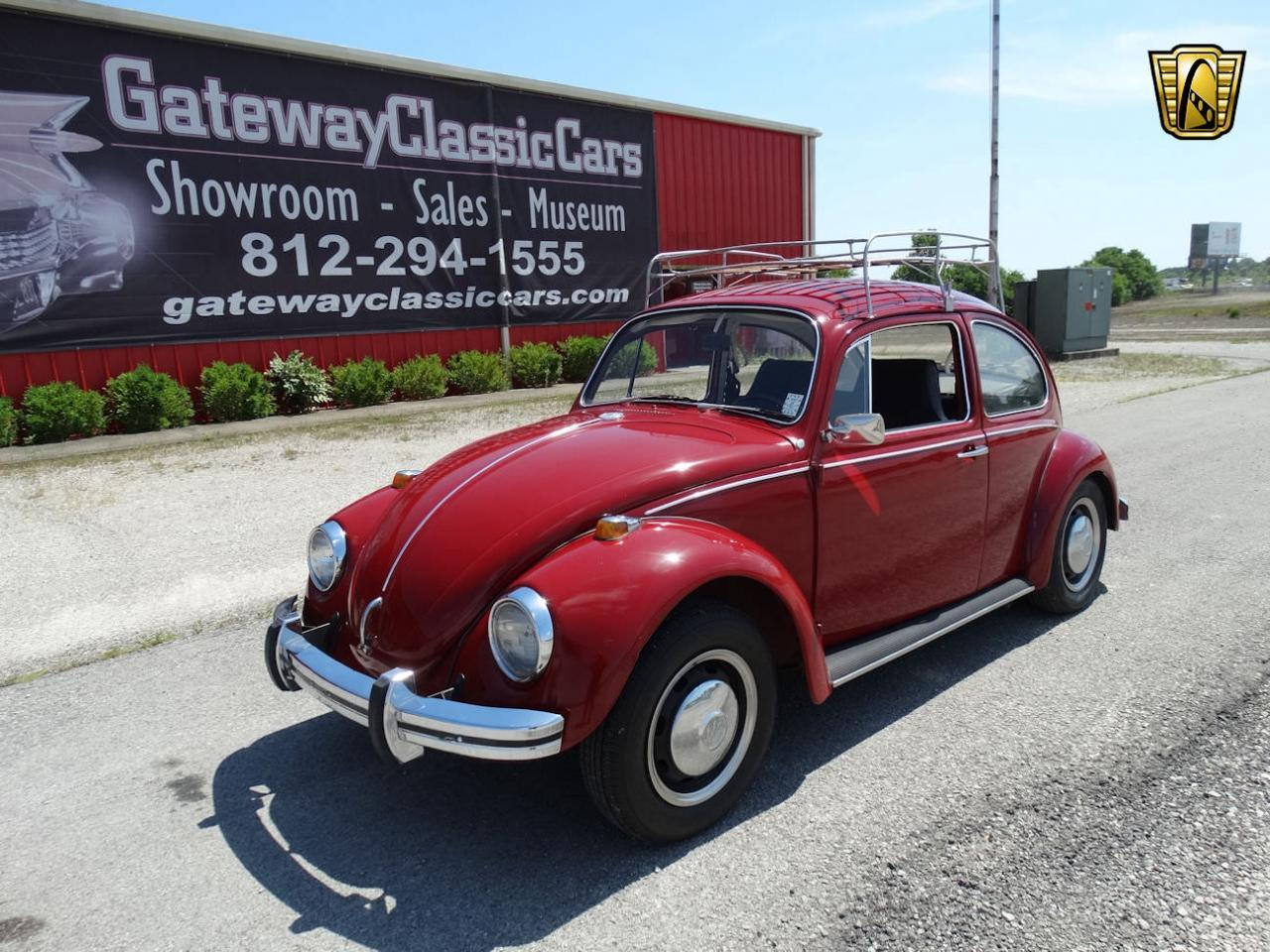 Large Picture of Classic 1968 Beetle - $10,995.00 Offered by Gateway Classic Cars - Louisville - L91P
