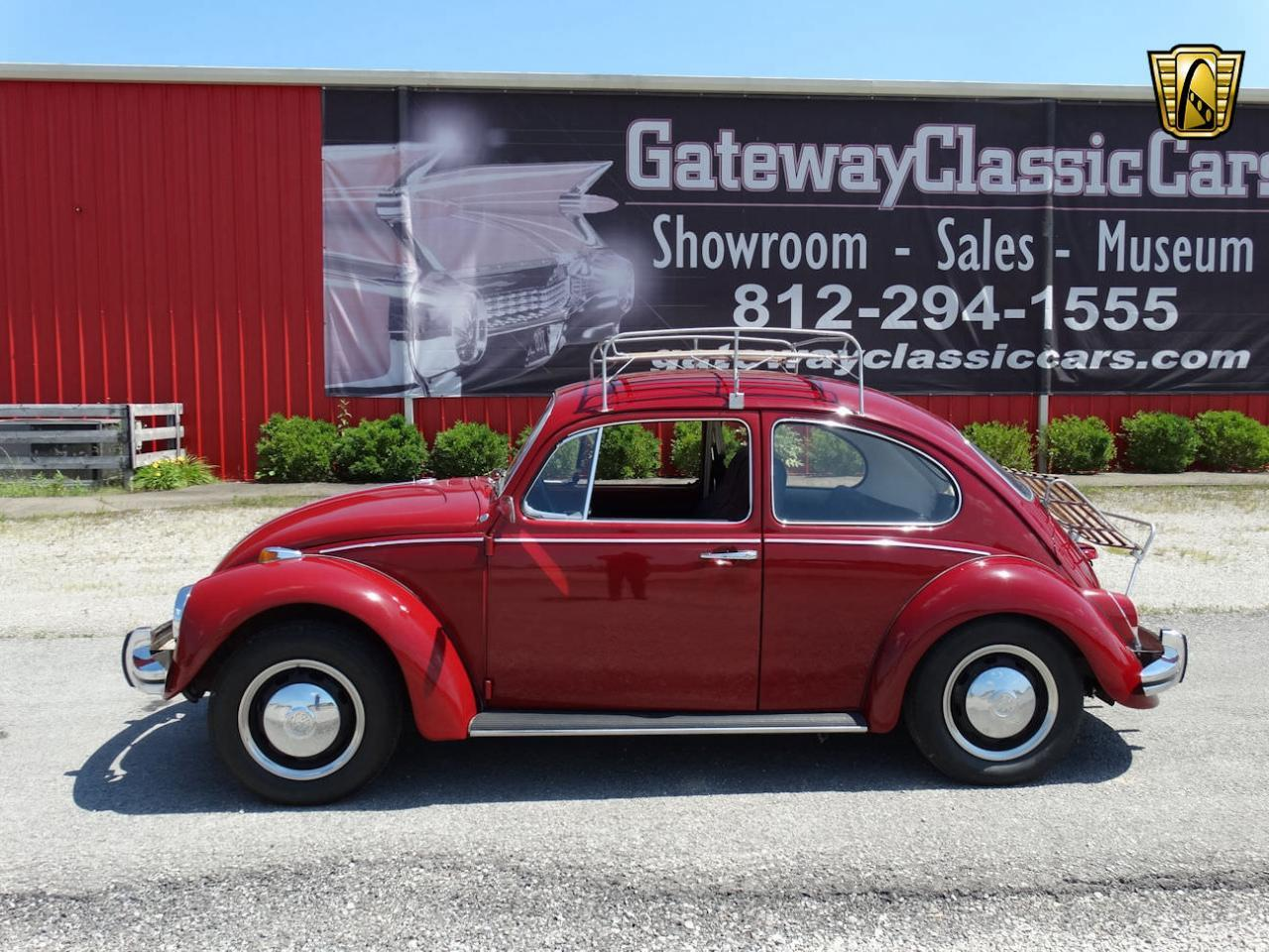 Large Picture of 1968 Volkswagen Beetle - $10,995.00 Offered by Gateway Classic Cars - Louisville - L91P