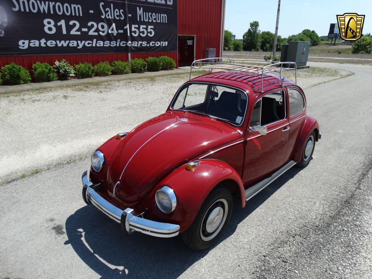 Large Picture of Classic 1968 Beetle Offered by Gateway Classic Cars - Louisville - L91P