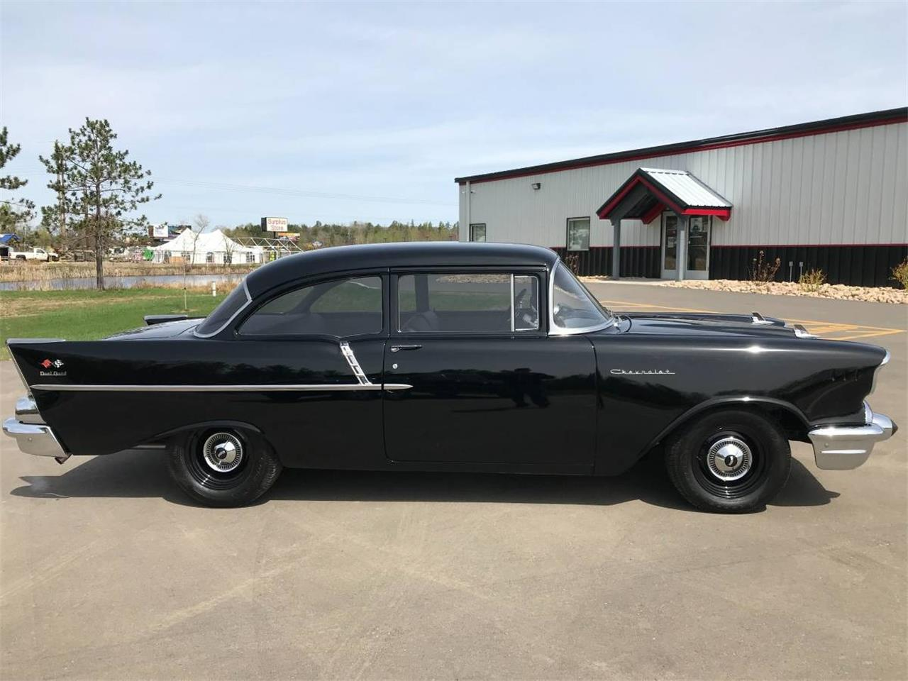 Large Picture of '57 Chevrolet 150 located in Minnesota Offered by High Rollers Hot Rods and Classics - L93Y