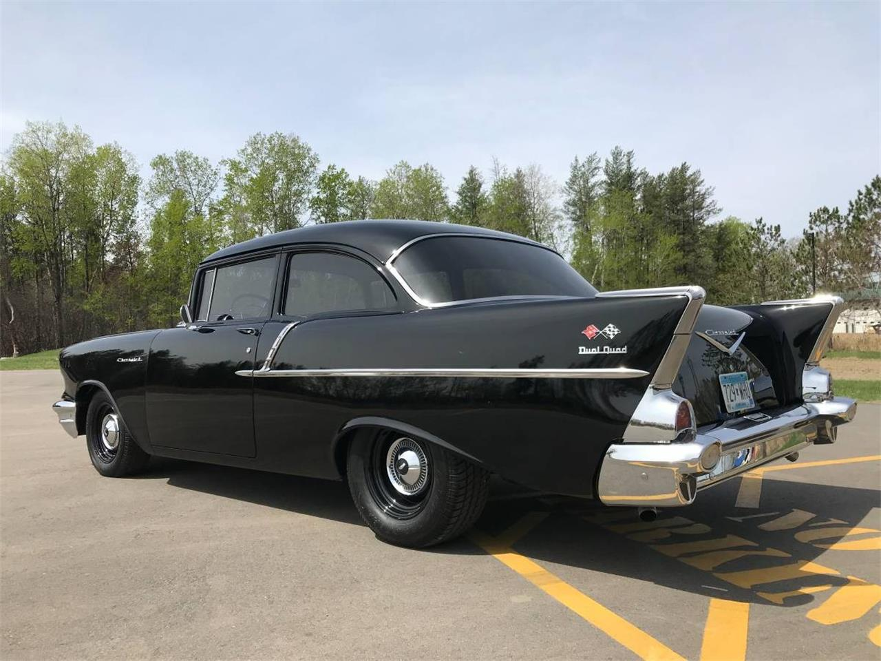Large Picture of 1957 Chevrolet 150 located in Brainerd Minnesota - $43,000.00 Offered by High Rollers Hot Rods and Classics - L93Y