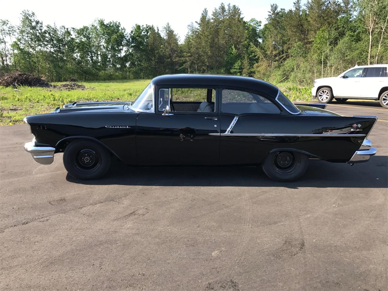 Large Picture of Classic '57 Chevrolet 150 - $43,000.00 Offered by High Rollers Hot Rods and Classics - L93Y