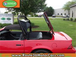 Picture of 1991 Chevrolet Camaro located in Dublin Ohio - $24,875.00 Offered by Route 36 Motor Cars - L80O