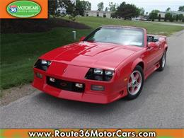 Picture of '91 Chevrolet Camaro Offered by Route 36 Motor Cars - L80O