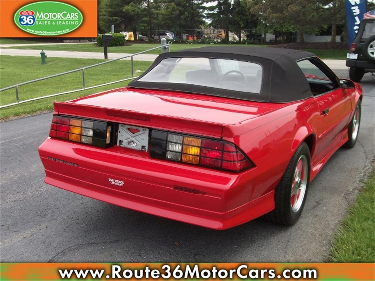 Large Picture of '91 Chevrolet Camaro Offered by Route 36 Motor Cars - L80O