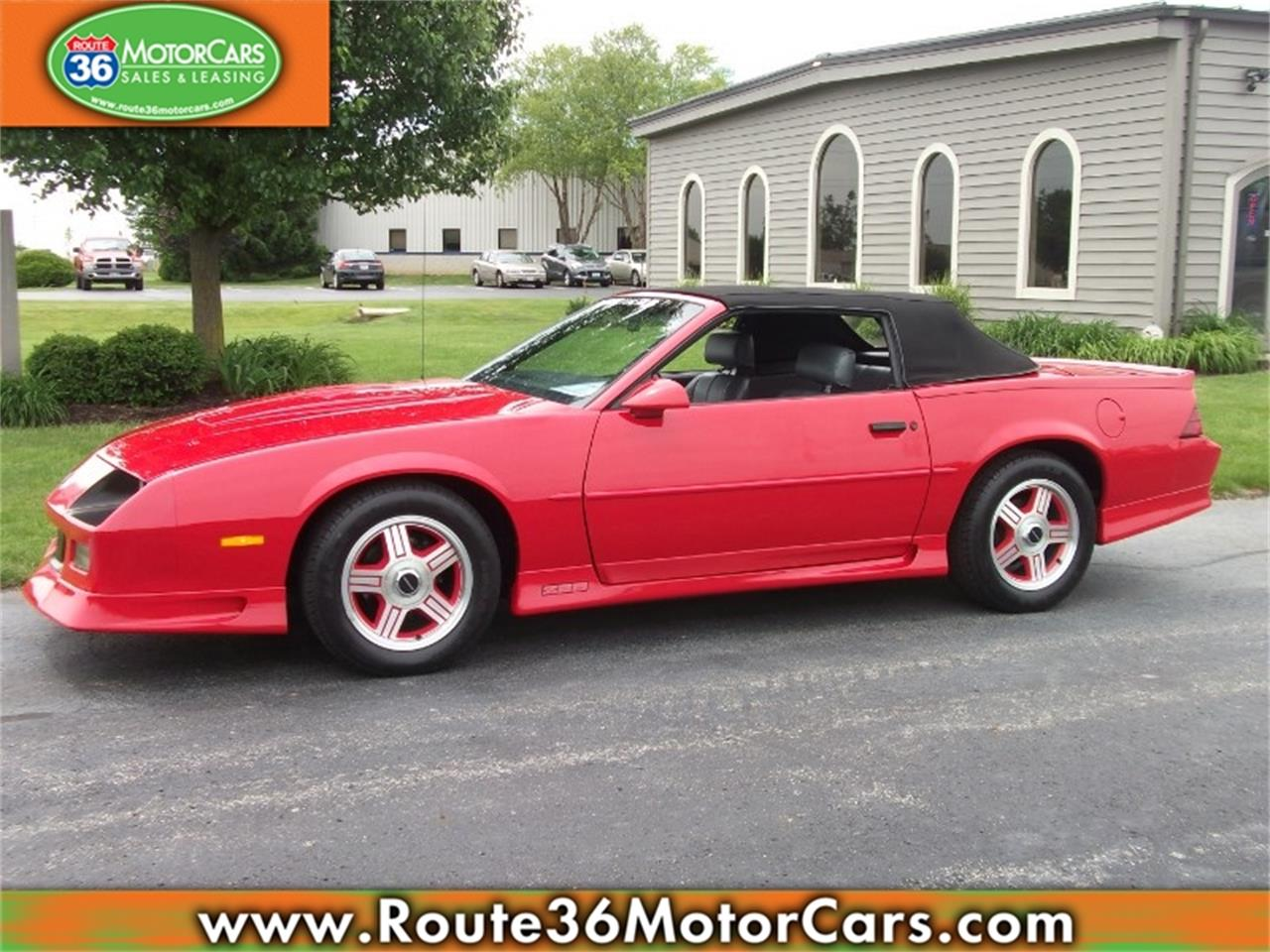 Large Picture of 1991 Chevrolet Camaro - L80O