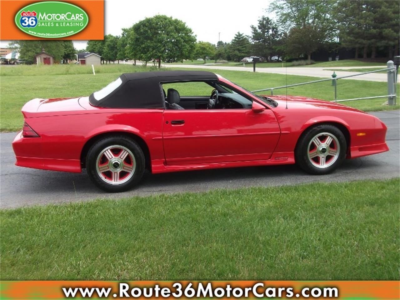 Large Picture of '91 Camaro located in Ohio Offered by Route 36 Motor Cars - L80O