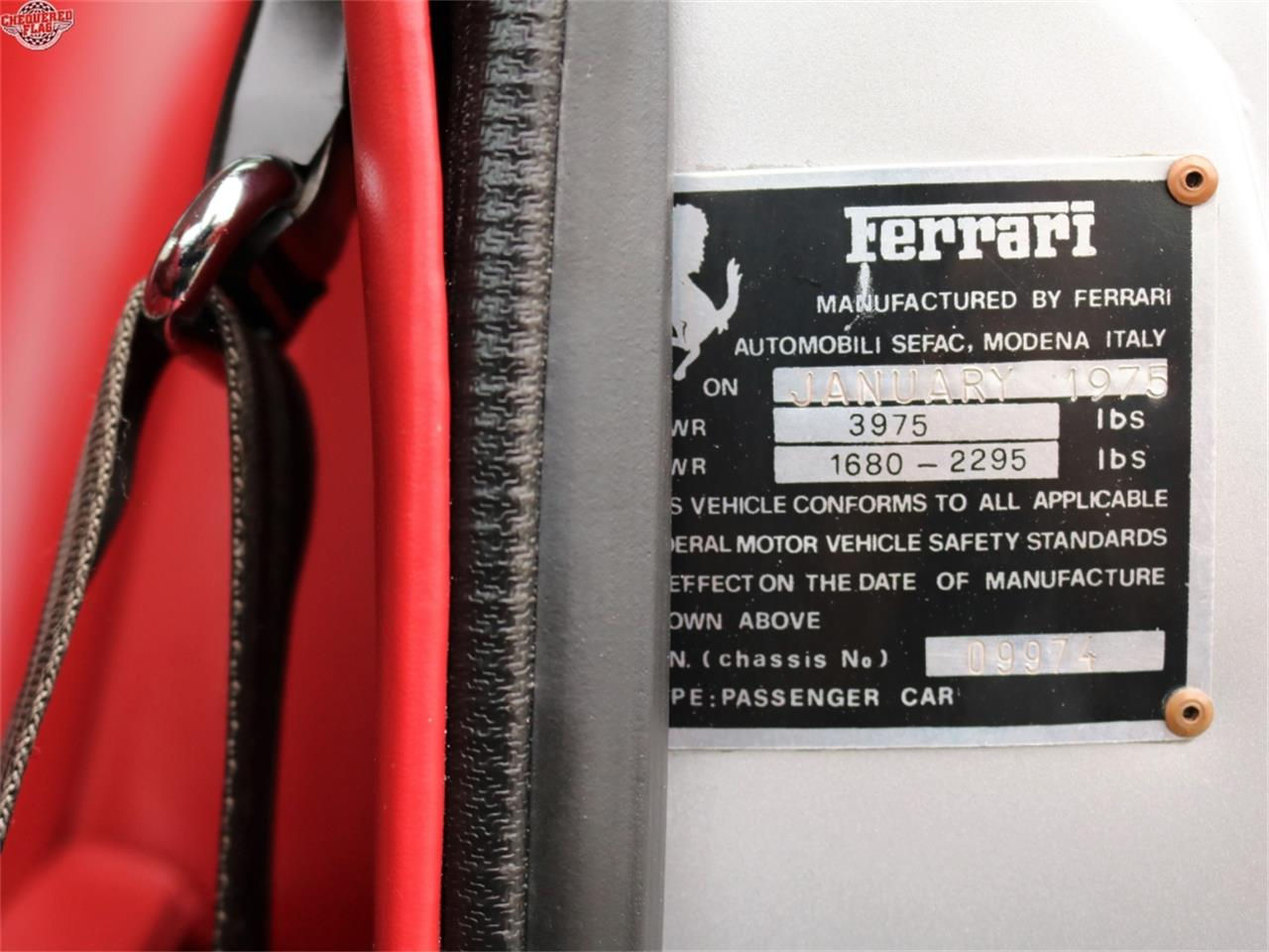 Large Picture of '75 Ferrari 308 located in California - $79,500.00 Offered by Chequered Flag International - L812