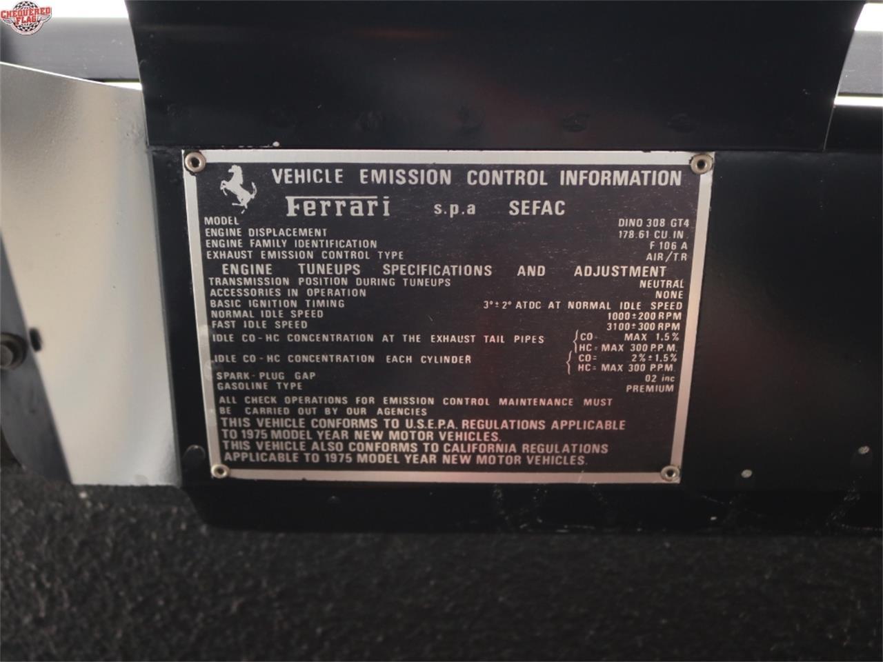 Large Picture of '75 Ferrari 308 located in California - L812