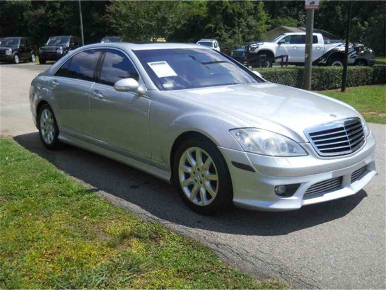 Large Picture of '07 S-Class - L7WJ