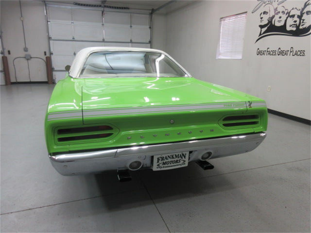 Large Picture of 1970 Plymouth Road Runner located in Sioux Falls South Dakota Offered by Frankman Motor Company - L81P