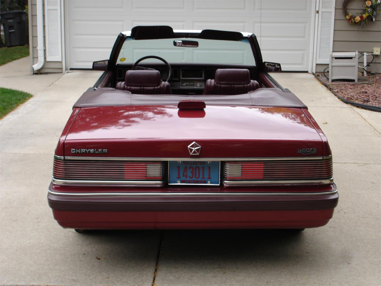 Large Picture of '86 Chrysler LeBaron - L9SS