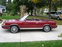 Picture of 1986 LeBaron located in Lake Geneva Wisconsin Offered by a Private Seller - L9SS