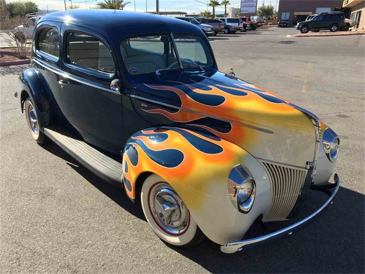 Large Picture of Classic 1940 Ford Tudor located in Nevada Offered by Atomic Motors - L9TZ