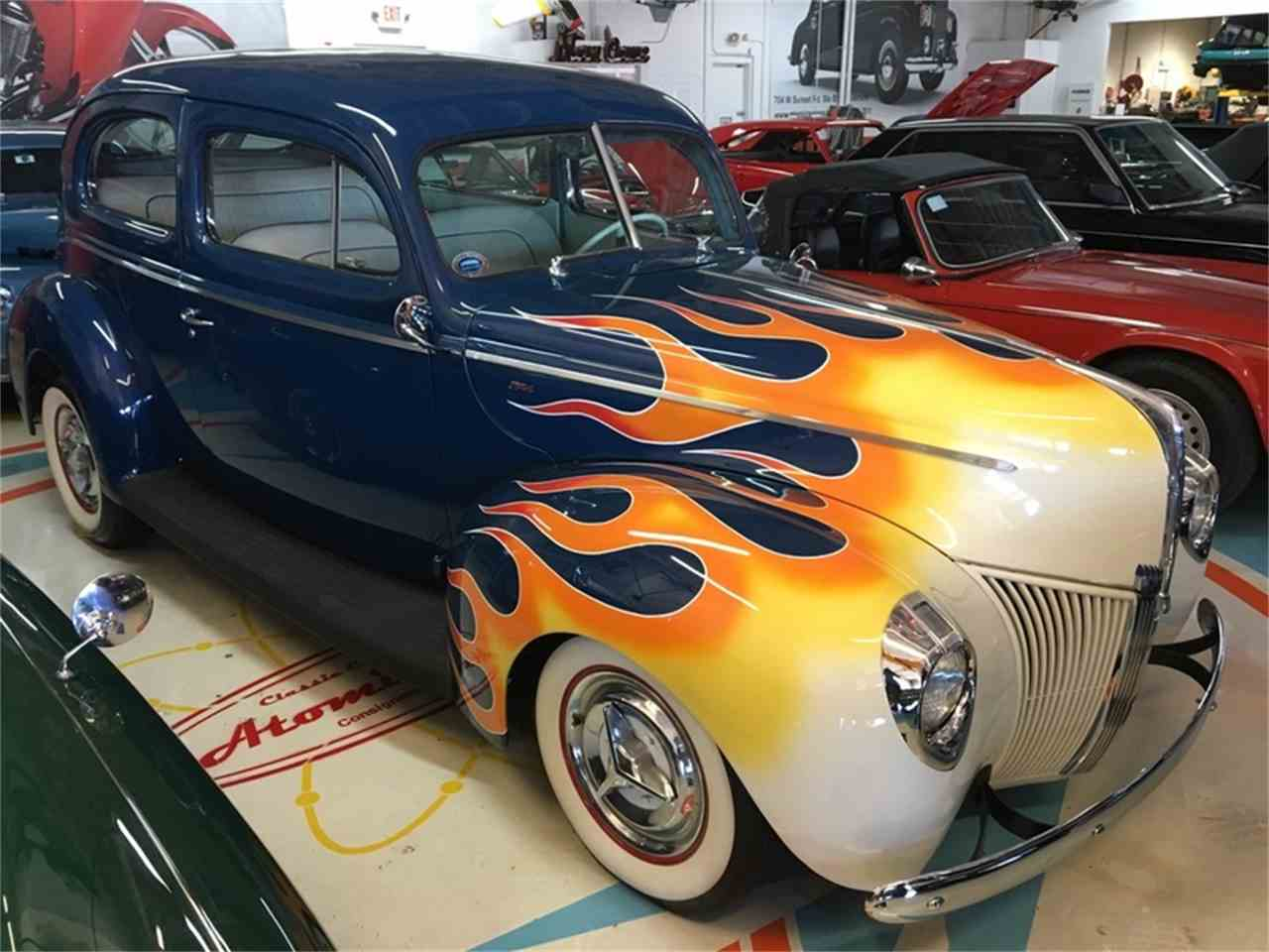 Large Picture of '40 Ford Tudor Offered by Atomic Motors - L9TZ
