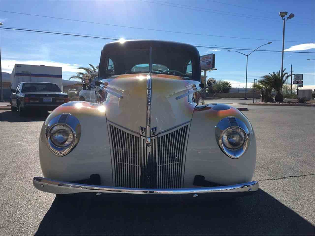 Large Picture of Classic 1940 Ford Tudor Offered by Atomic Motors - L9TZ