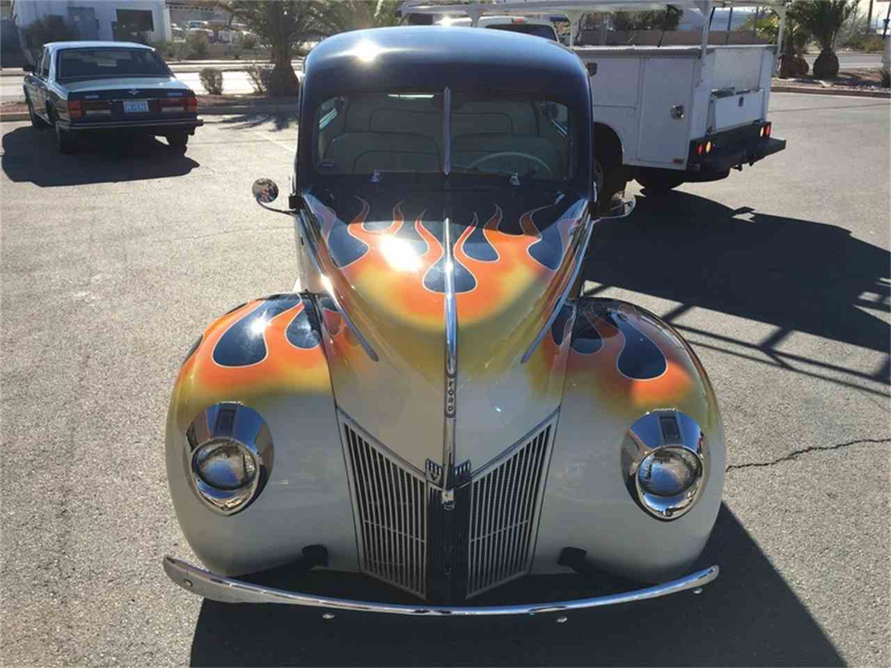 Large Picture of 1940 Ford Tudor located in Henderson Nevada - $44,900.00 Offered by Atomic Motors - L9TZ