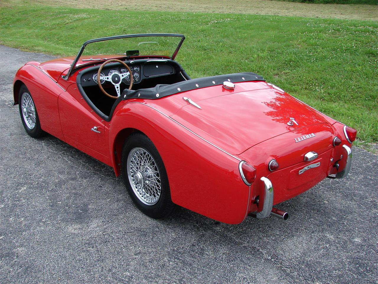 Large Picture of Classic 1962 TR3A located in Missouri - $33,995.00 Offered by Wilson Motor Company - L9XJ