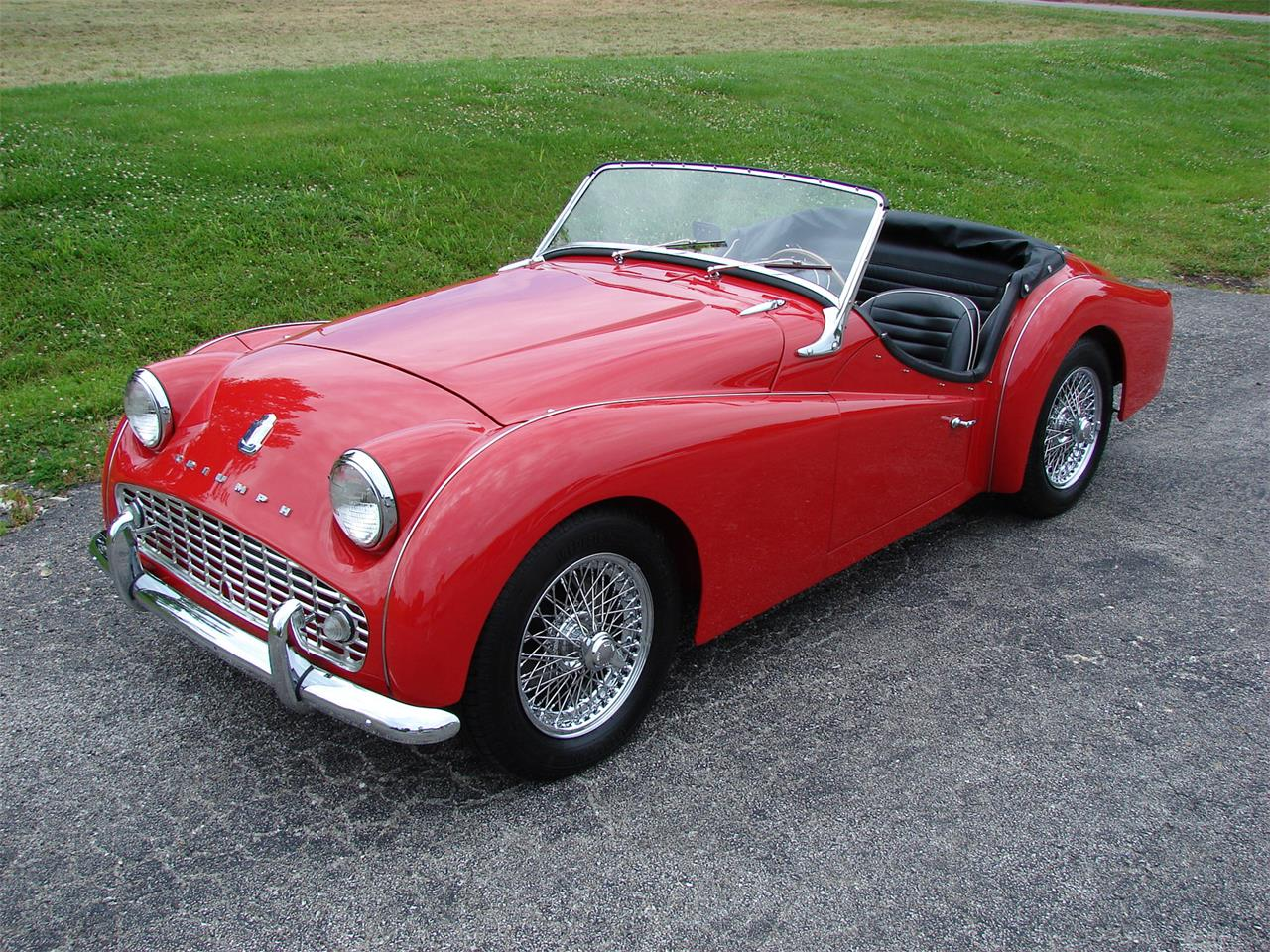 Large Picture of '62 Triumph TR3A - $33,995.00 Offered by Wilson Motor Company - L9XJ