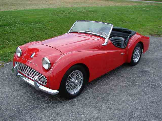 Picture of '62 Triumph TR3A Offered by Wilson Motor Company - L9XJ