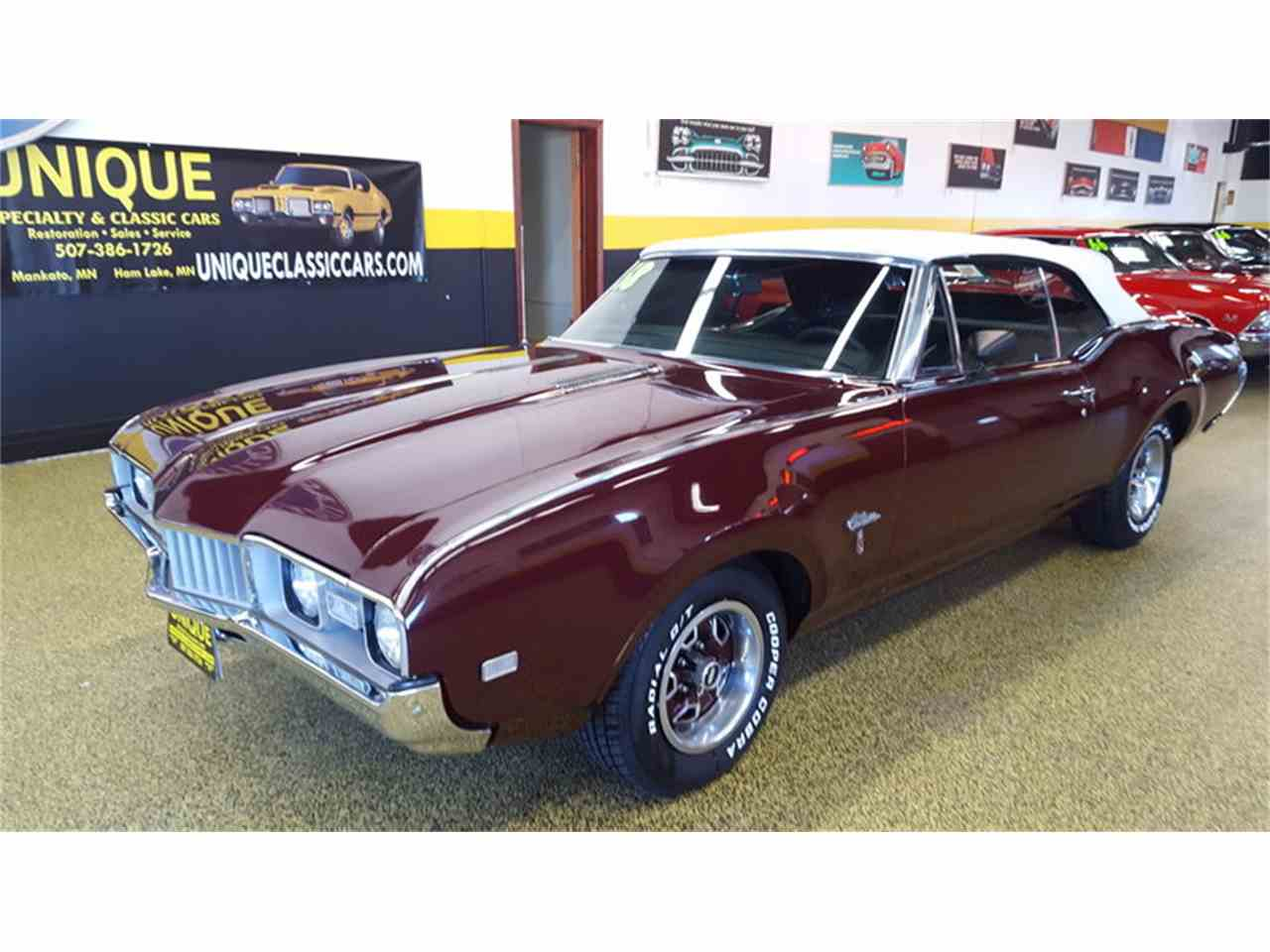 Large Picture of Classic 1968 Oldsmobile Cutlass    Convertible located in Mankato Minnesota - $19,900.00 Offered by Unique Specialty And Classics - L9ZI