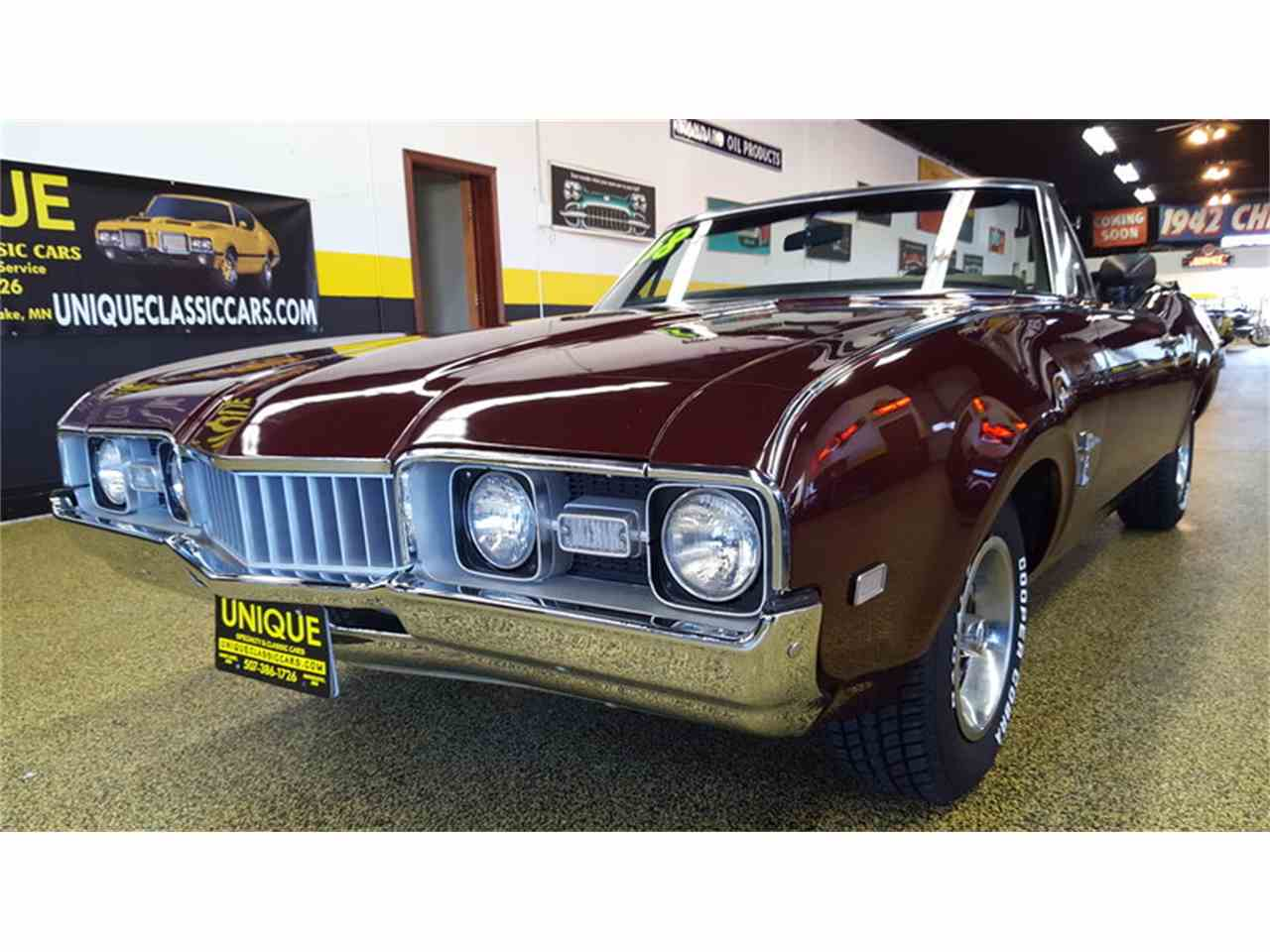 Large Picture of 1968 Oldsmobile Cutlass    Convertible - $19,900.00 Offered by Unique Specialty And Classics - L9ZI