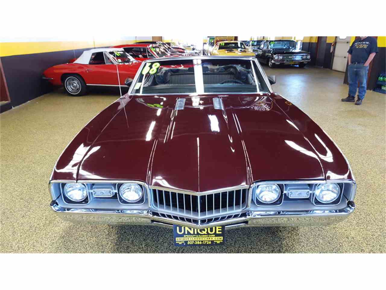 Large Picture of Classic 1968 Cutlass    Convertible located in Minnesota Offered by Unique Specialty And Classics - L9ZI