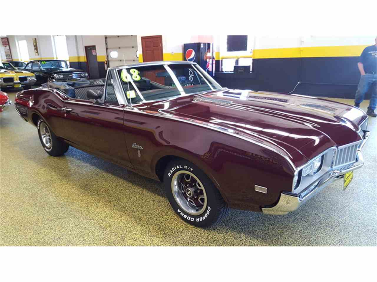Large Picture of Classic 1968 Oldsmobile Cutlass    Convertible - L9ZI