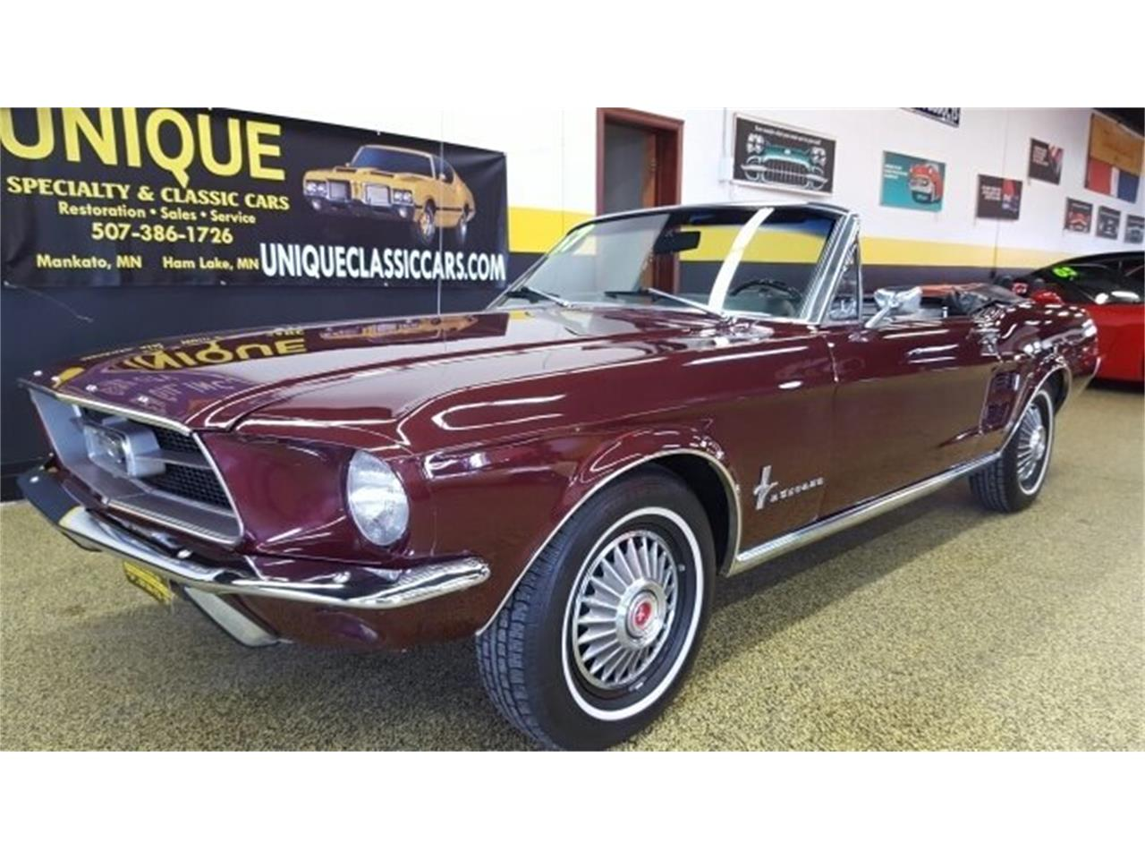 Large Picture Of 67 Mustang Convertible La10