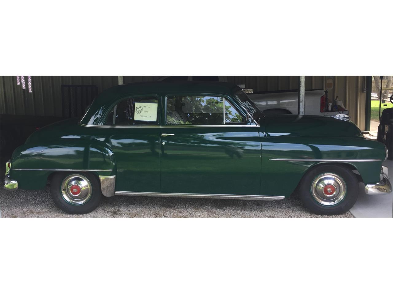 1952 plymouth cranbrook for sale classiccars com cc 992790