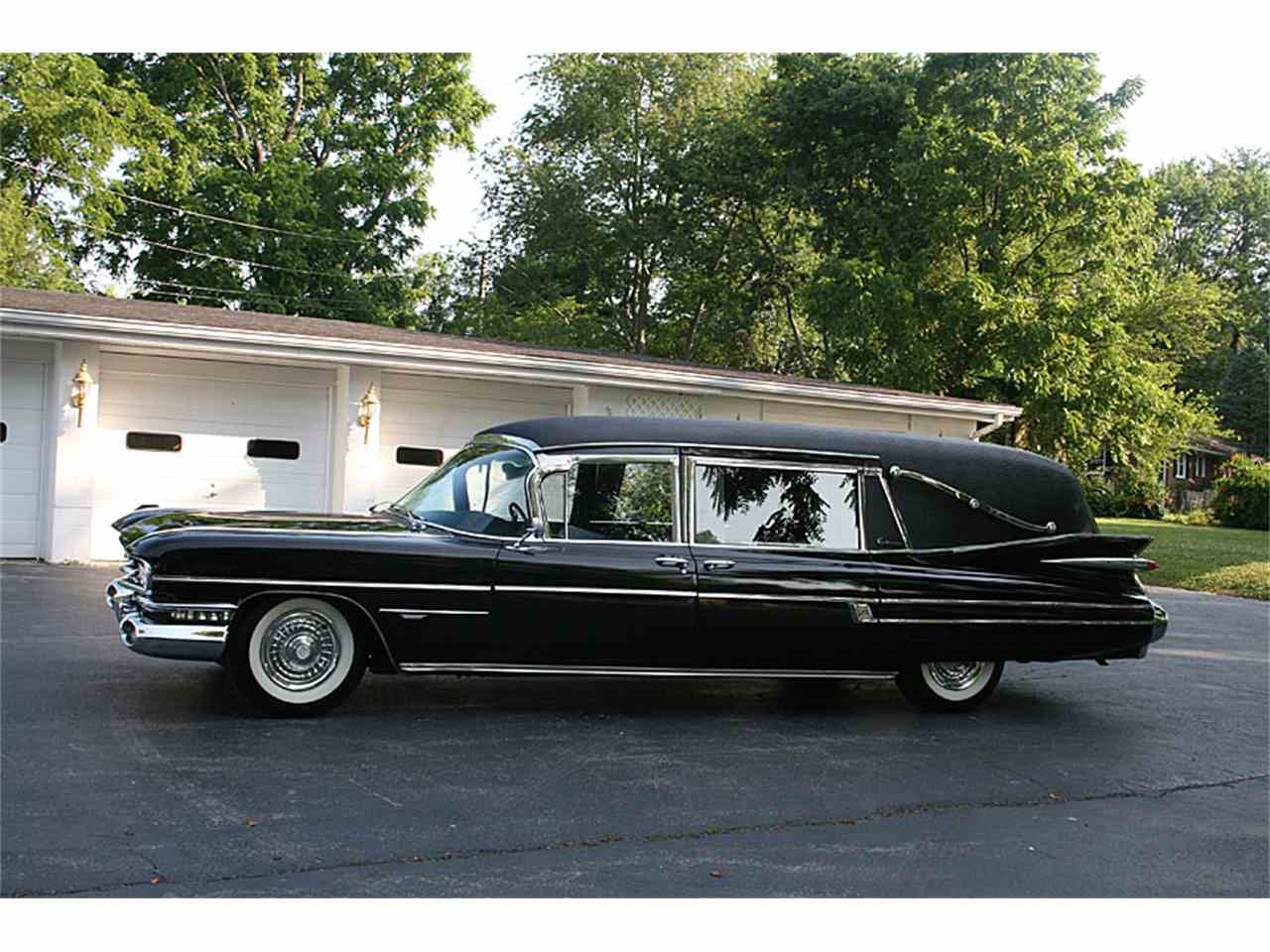 1959 Cadillac S&S Landau Victoria 3-Way He for Sale ...
