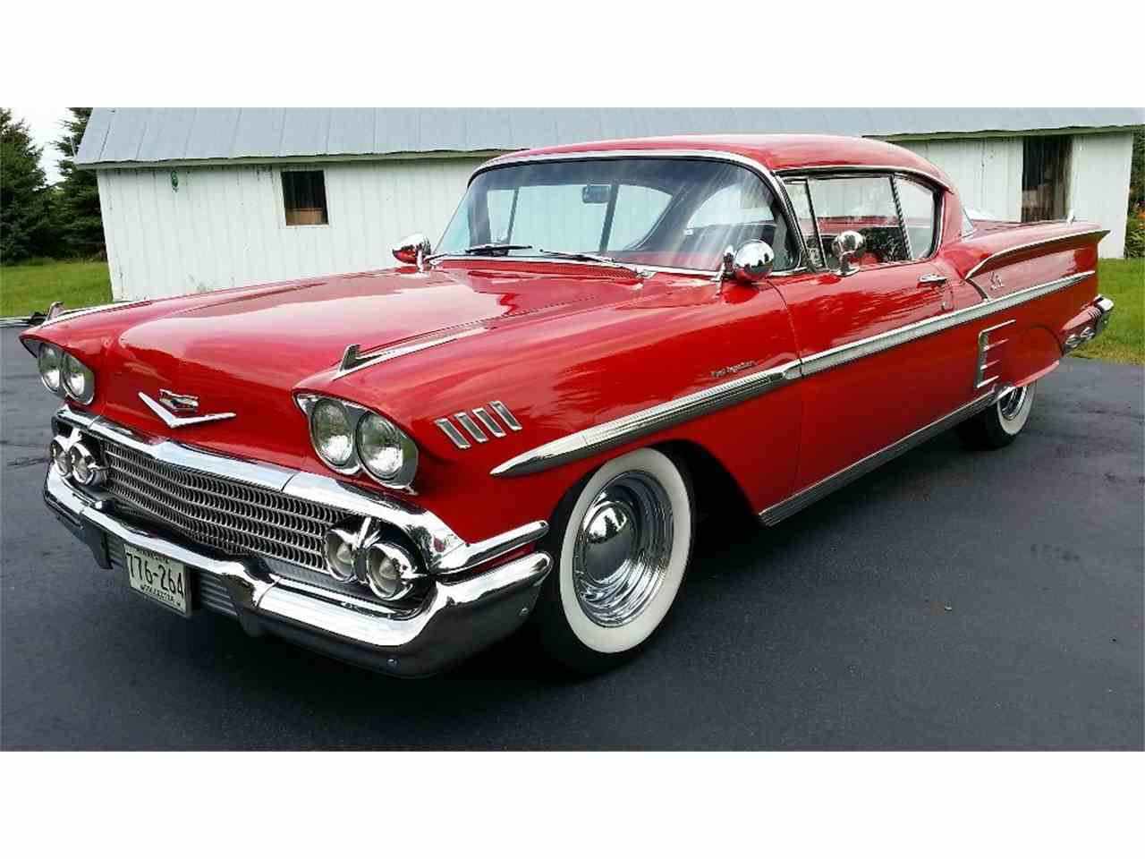 1958 chevrolet impala for sale cc 993030. Black Bedroom Furniture Sets. Home Design Ideas