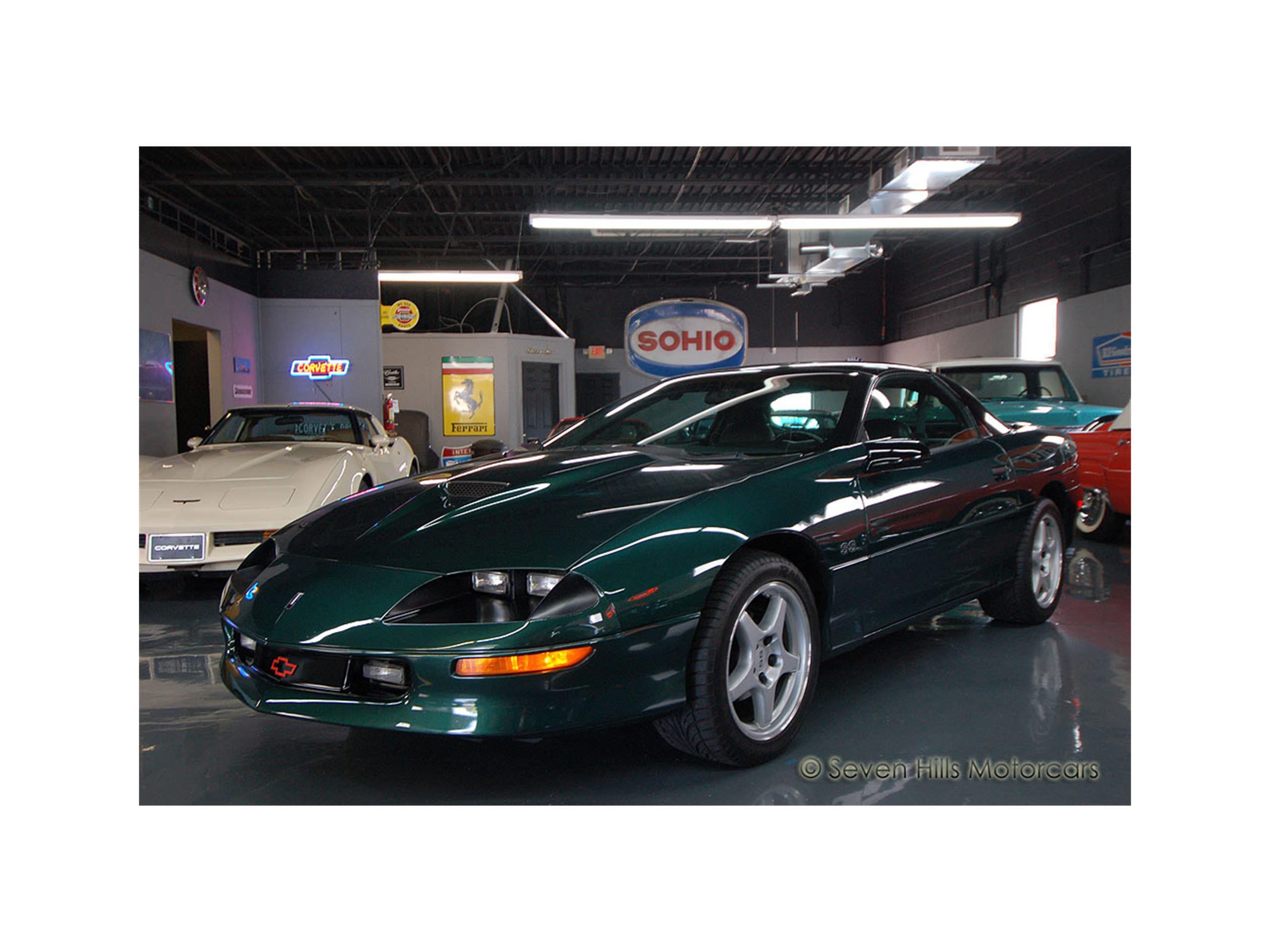 1996 chevrolet camaro ss for sale classiccars com cc 993112 rh classiccars com 1996 camaro owners manual 2020 Chevy Camaro
