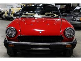 Picture of 1984 Fiat Pininfarina located in Michigan Offered by GR Auto Gallery - LAC7