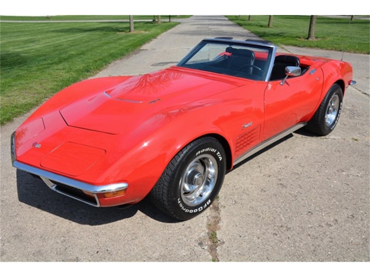 Large Picture of Classic '72 Chevrolet Corvette located in Michigan - LAFE