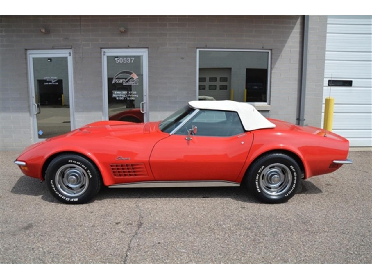 Large Picture of Classic 1972 Chevrolet Corvette located in Michigan - $39,995.00 Offered by Rev Up Motors - LAFE