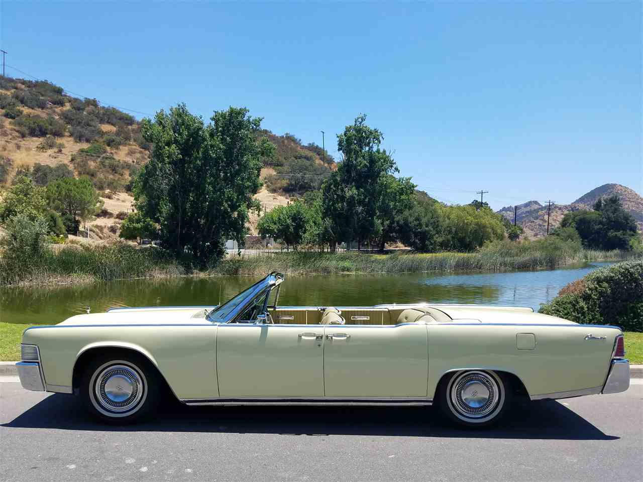 Classic Cars For Sale California Usa: 1965 Lincoln Convertible For Sale