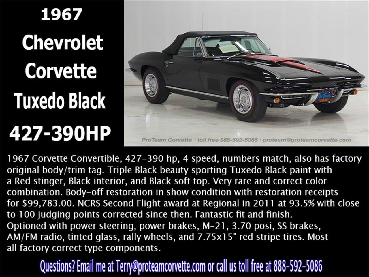 Large Picture of 1967 Chevrolet Corvette - $129,000.00 - L85G
