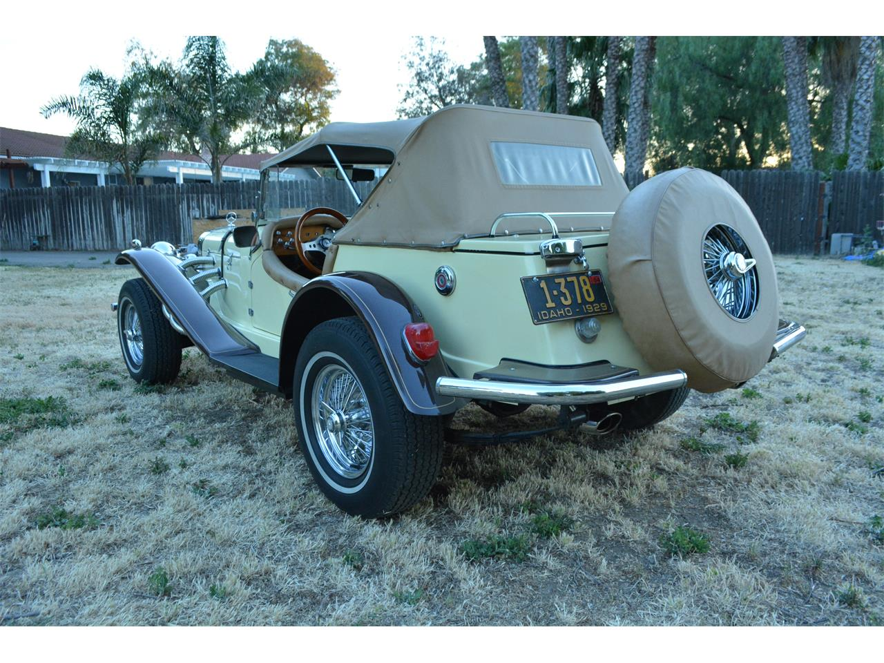 Large Picture of '29 Mercedes-Benz SSK Replica located in Tracy California Offered by Robz Ragz - LAJ0