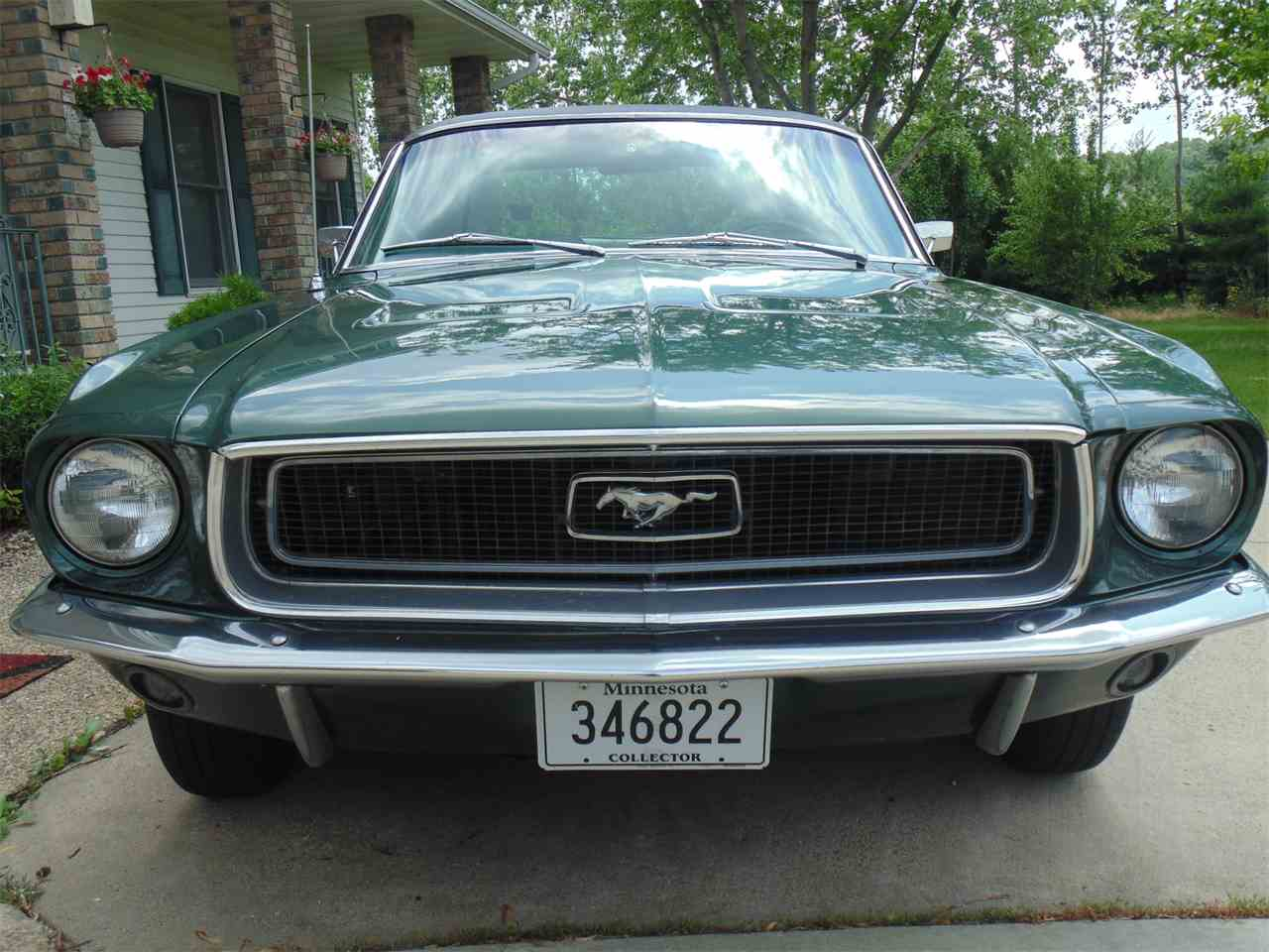 Large Picture of Classic 1968 Mustang located in Minnesota Offered by Braaten's Auto Center - LAJ5