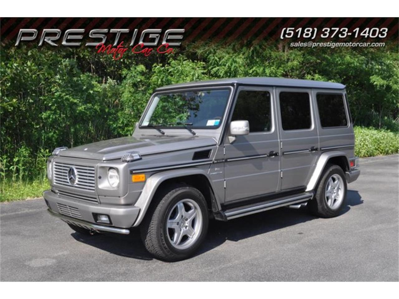 Large Picture of 2005 Mercedes-Benz G-Class located in Clifton Park New York Offered by Prestige Motor Car Co. - LAKK