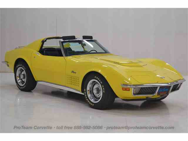 Picture of Classic '70 Chevrolet Corvette located in Napoleon Ohio - $39,998.00 Offered by  - LALW