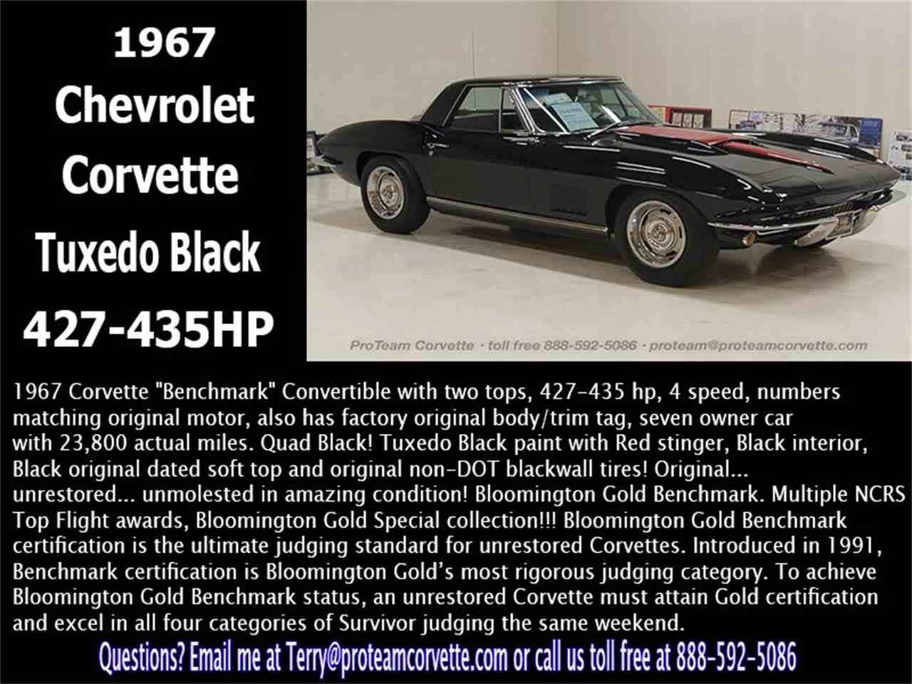 Large Picture of '67 Corvette - LALX