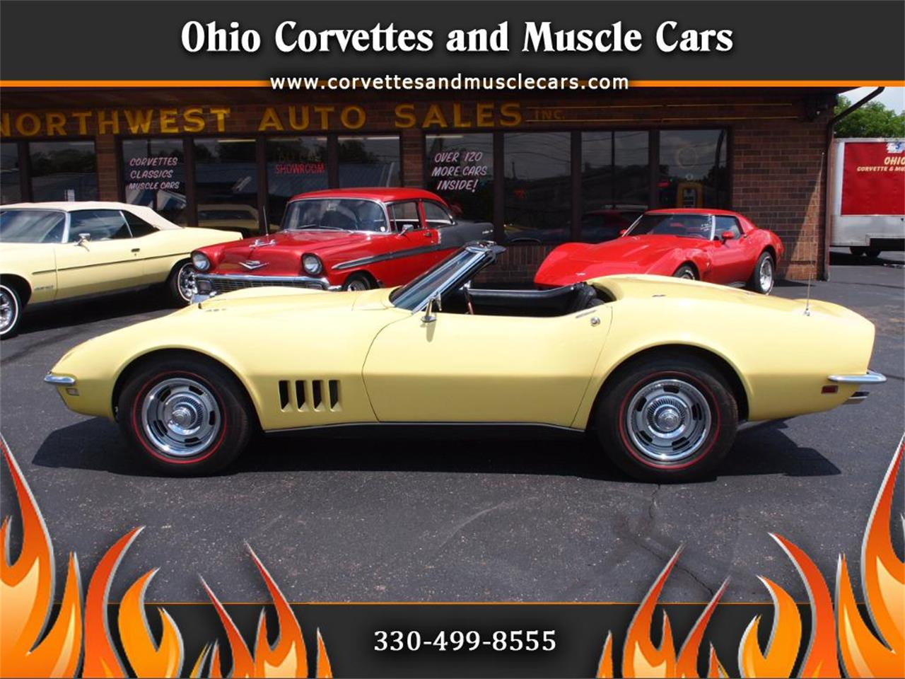 Large Picture of 1968 Chevrolet Corvette - $49,500.00 Offered by Ohio Corvettes and Muscle Cars - LAOB