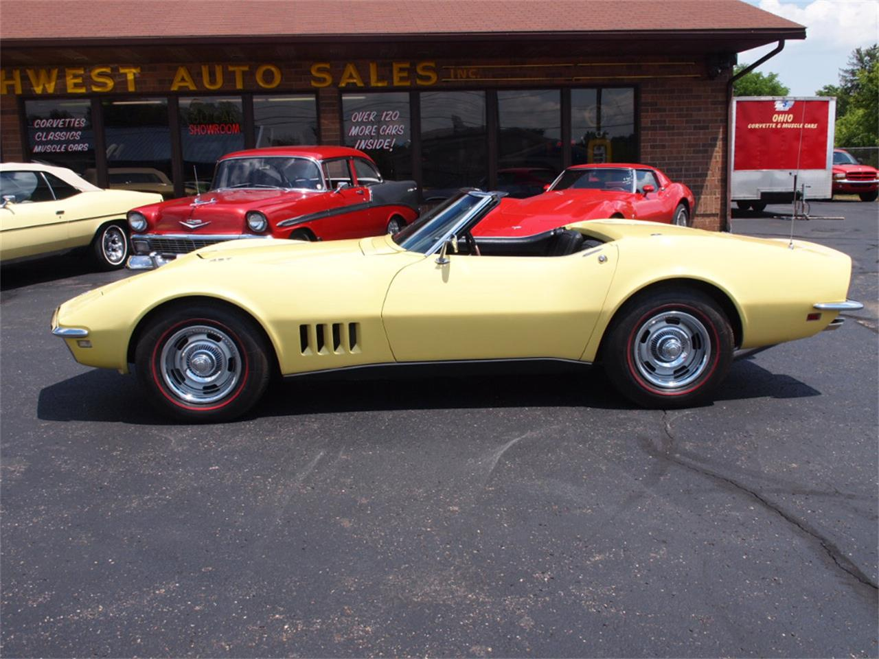 Large Picture of Classic '68 Chevrolet Corvette - $49,500.00 Offered by Ohio Corvettes and Muscle Cars - LAOB