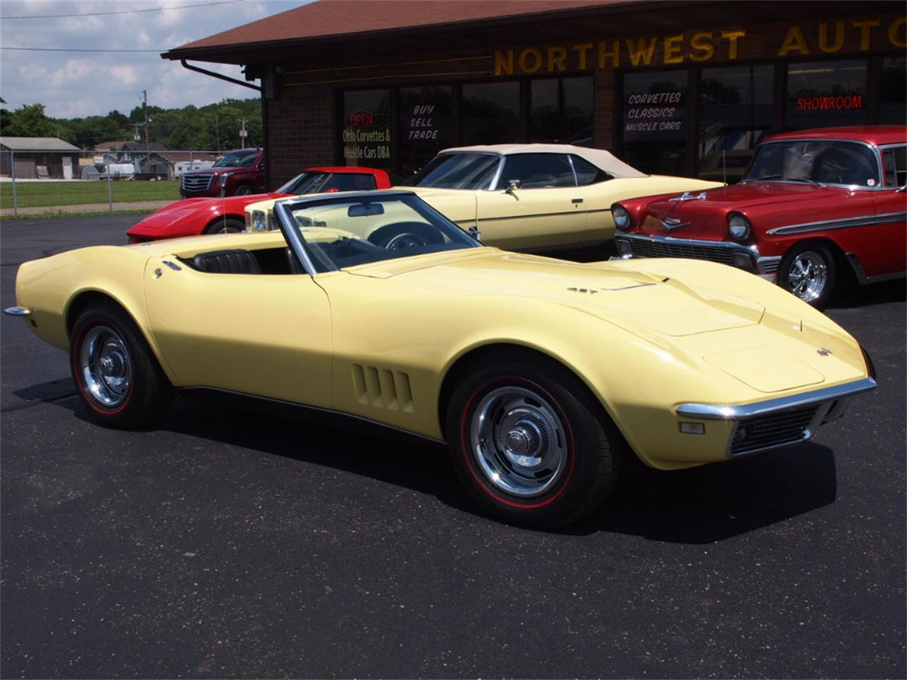 Large Picture of 1968 Corvette located in North Canton Ohio Offered by Ohio Corvettes and Muscle Cars - LAOB