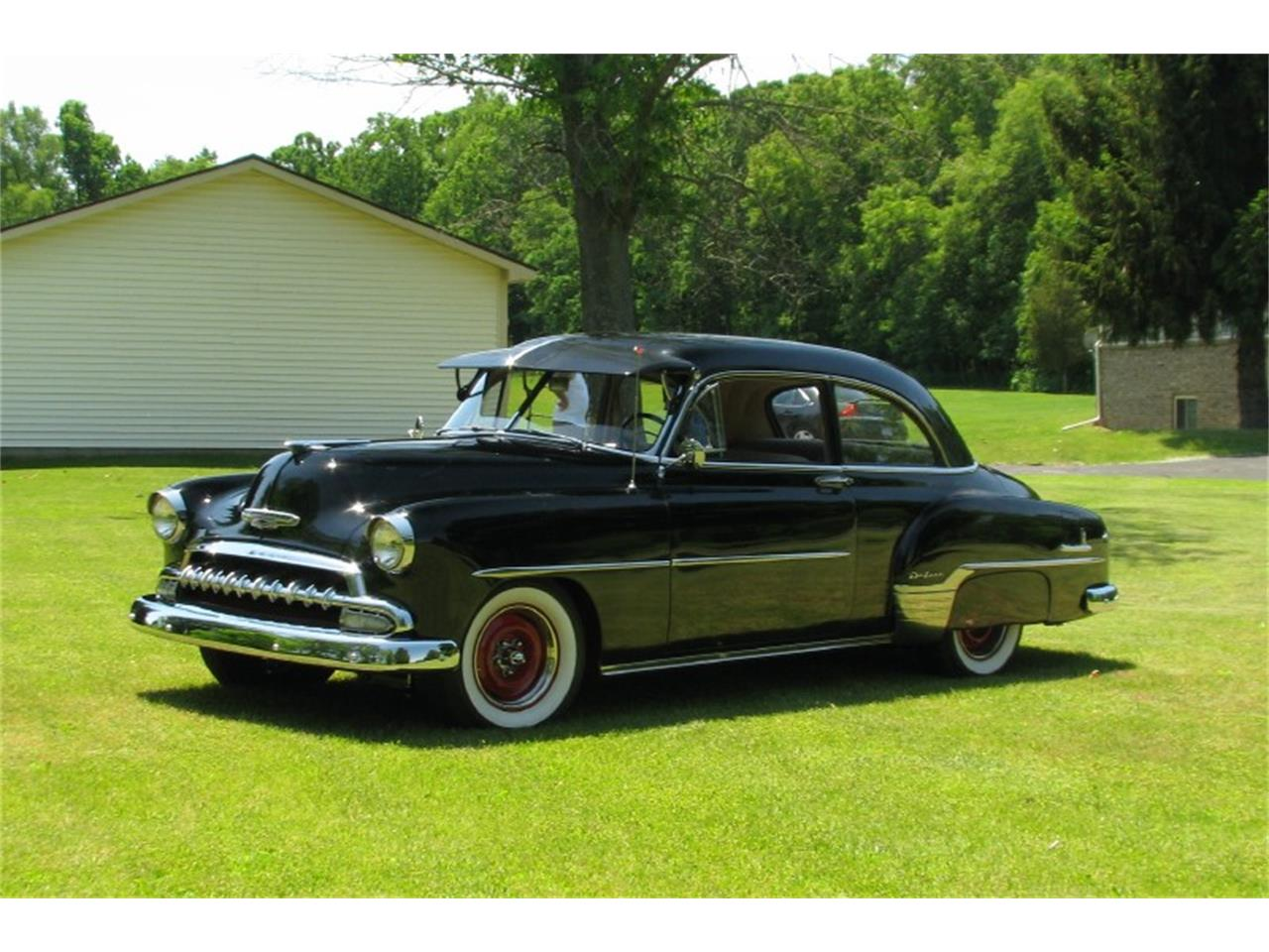 Large Picture of '52 Chevrolet Deluxe Business Coupe located in Michigan Offered by Sleeman's Classic Cars - LAP4