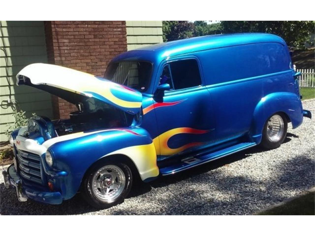 Large Picture of '54 GMC Panel Delivery Van - $33,200.00 Offered by CARuso Classic Cars - LASE