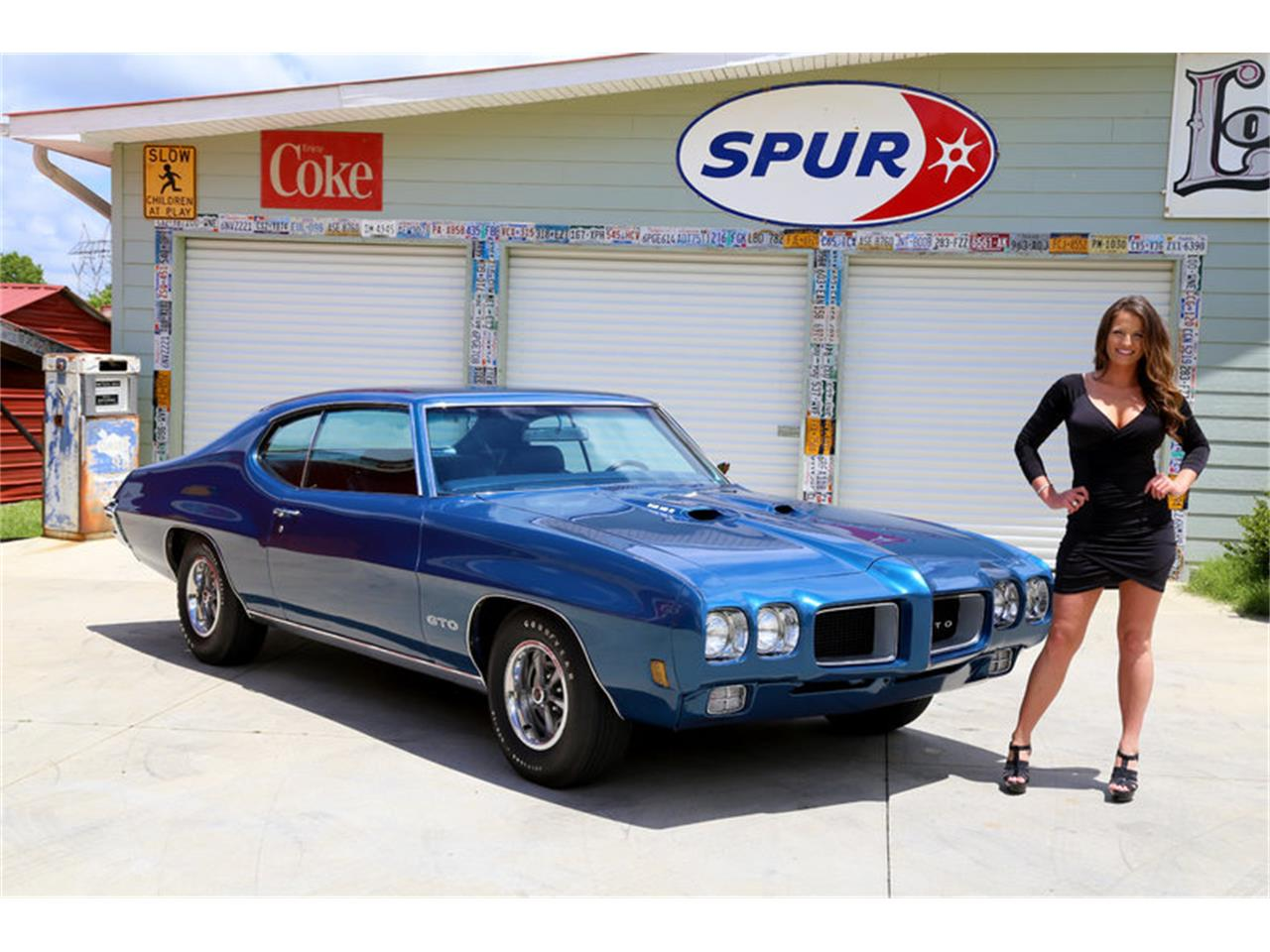 Large Picture of Classic '70 Pontiac GTO Offered by Smoky Mountain Traders - LAT6