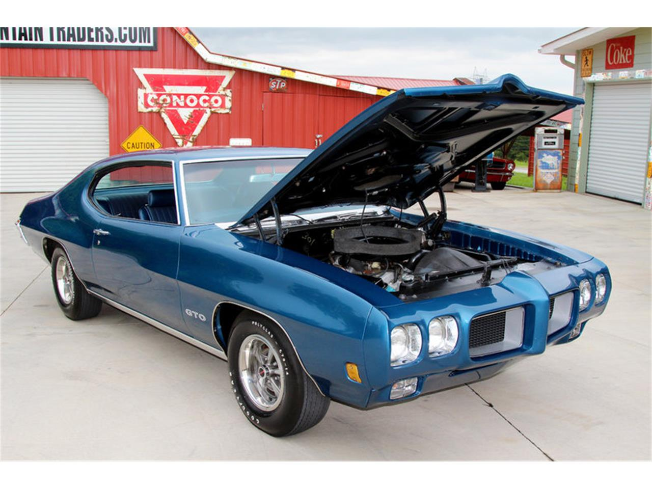Large Picture of Classic '70 Pontiac GTO located in Lenoir City Tennessee - $44,995.00 Offered by Smoky Mountain Traders - LAT6